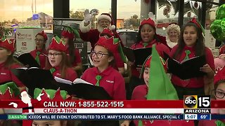 Claus-a-thon: Raising money to help organizations and families in need