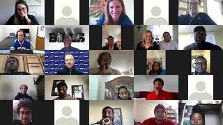Buffalo Prep students speak with Bills players ahead of virtual celebration
