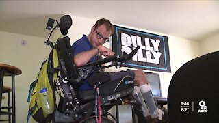 Xavier student needs your help keeping his wheelchair charged