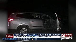 Oklahoma family ambushed in Mexico