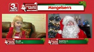Virtual Santa visit with Ellie