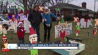 Amazing holiday light displays across metro Detroit