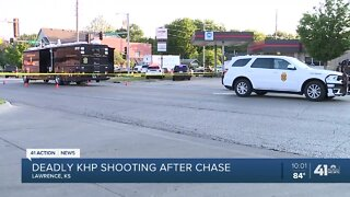 Deadly KHP shooting after chase