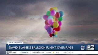 David Blaine to fly over Page, Arizona in latest stunt