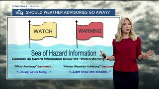 Geeking Out: Should weather advisories go away?