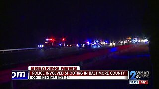 Police involved shooting in Baltimore County