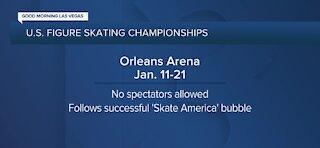 U.S. Figure Skating Championships come to Las Vegas