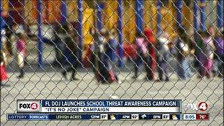 Florida officials launch new school threat awareness campaign