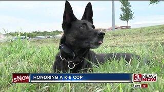 Sarpy County Sheriff's Office K-9 retires