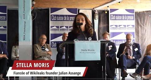 Julian Assange's 50th Birthday July 3rd 2021 - Stella Morris in Geneva Three Weeks Ago