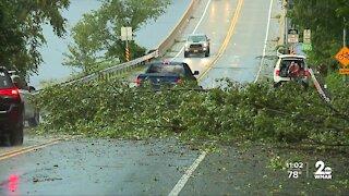 Tornado touches down near Annapolis Thursday