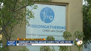 Community rallies around North Park Church that shelters homeless youth