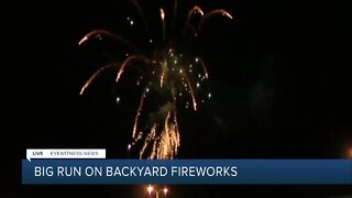 Fireworks sales skyrocket amid 4th of July show cancelations