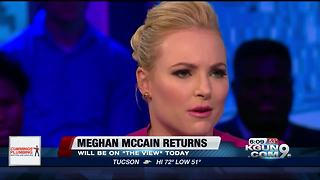 Meghan McCain is returning to The View