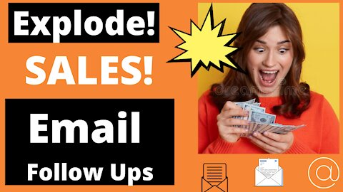 Ad Tip #3 Explode Your Sales With Email Follow Ups!