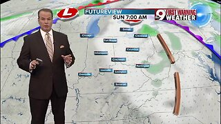 Your Friday evening weather
