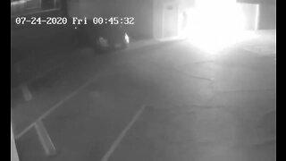 Surveillance video shows arson at Phoenix Democratic headquarters