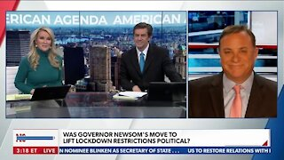 California Governor Gavin Newsom Lifts Covid Lockdown Orders