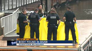 Man's body pulled from Milwaukee River in downtown Milwaukee