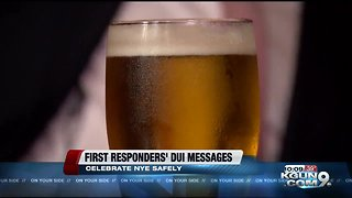 Driving under the influence, New Years Eve, advice from first responders