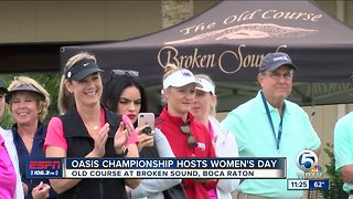 Oasis Championship hosts Women's Day