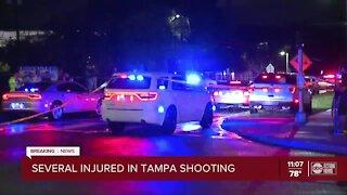 Several people injured in Tampa shooting, deputies say