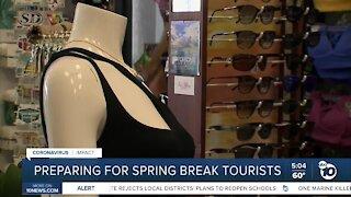 San Diego preparing for Spring Break tourists