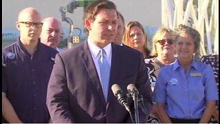 Gov. DeSantis visits Jupiter, announces new legislation to protect Florida's water