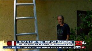 Southwest Bakersfield neighborhood shooting
