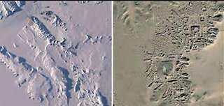 NASA Images Show Ancient Human Settlement In Antarctica!