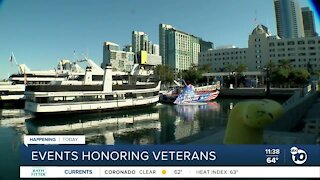 Events held across San Diego to honor veterans on Veterans Day