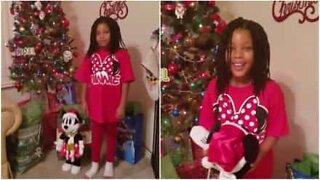 Barn får uventet juleoverraskelse: en tur til Disneyland!