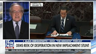 Alan Dershowitz Explains Why Trump Shouldn't Testify at Impeachment Hearings