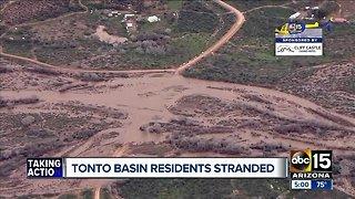 Tonto Basin residents stranded in Arizona