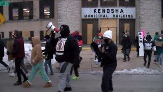 Jacob Blake's family, supporters call for firing of Kenosha police officer