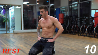 V Shred 12 Minute Fat Burning Cardio Workout | No Equipment