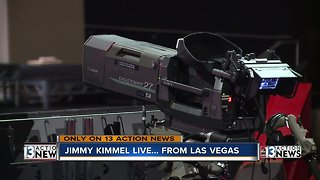 First Look: Jimmy Kimmel speaks with 13 Action News