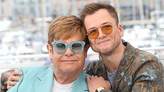 Elton John and 'Rocketman' star Taron Egerton duet on a lively new song