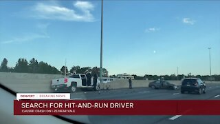 Video: Denver police search for alleged hit-and-run driver
