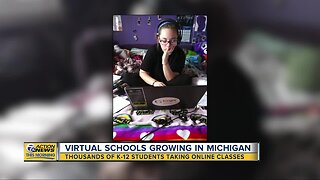 More Michigan students turning to virtual schools