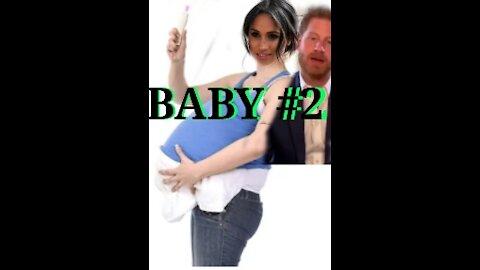 Meghan announces Pregnancy#2