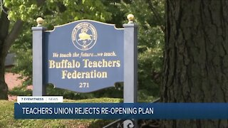 Buffalo teachers reject district reopening plans, calling them unsafe