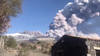 Italian Airport Reopens After Mt. Etna Eruption Forces Closure