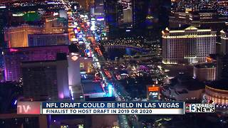 Las Vegas named finalists for 2019, 2020 NFL Draft says report