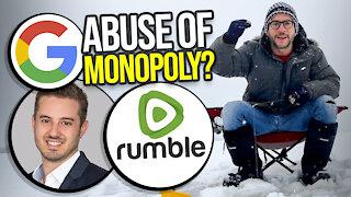 Rumbles anti-trust lawsuit against Google EXPLAINED - Viva Frei Vlawg