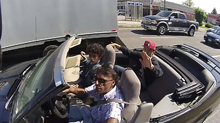 Road Rage at Car Driver