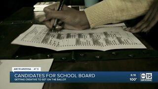 Candidates for school boards get creative amid coronavirus