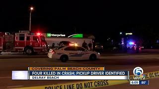 4 killed in Delray Beach crash