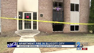 Several Residents Displaced after Ellicott City Apartment Fire