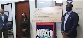 Nevada's Mining Association donates to after school program